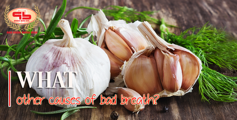 What other causes of bad breath?