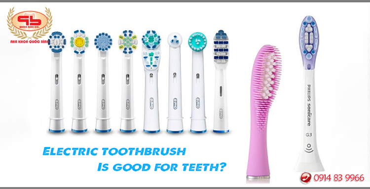 Electric toothbrush is good for teeth?