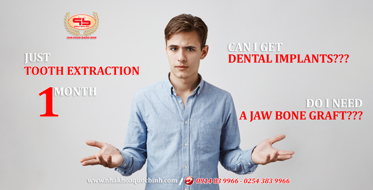 When is the right time for dental implants after tooth extraction?